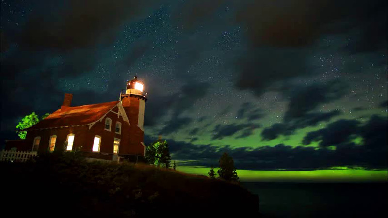 Eagle Harbor Lights