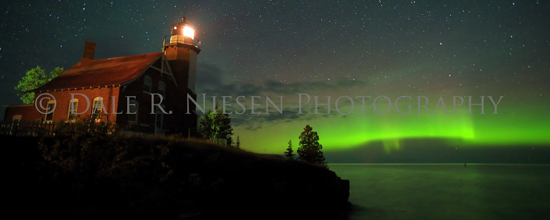 Eagle Harbor Lighthouse, Eagle Harbor, Michigan taken August 31, 2014 at 2:44 AM.