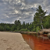 Miners River at Miners Beach, Pictured Rocks National Lakeshore, Munising, Michigan.