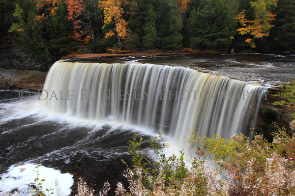 Upper Tahquamenon Falls located near Paradise, Michigan.